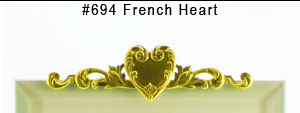 #694 French Heart