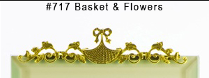 #717 Basket & Flowers
