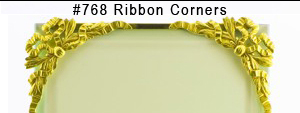 #768 Ribbon Corners