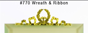 #770 Wreath & Ribbon