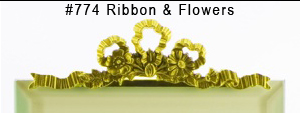 #774 Ribbon & Flowers