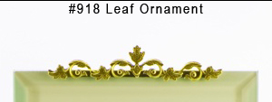 #918 Leaf Ornament